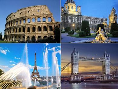 И автобусные туры по европе